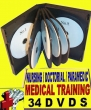 MEDICAL TRAINING LIBRARY - 24 DVDS / 100+ HOURS
