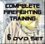 Total Art of Firefighting Skill Training DVD SET - on 6 DVDs